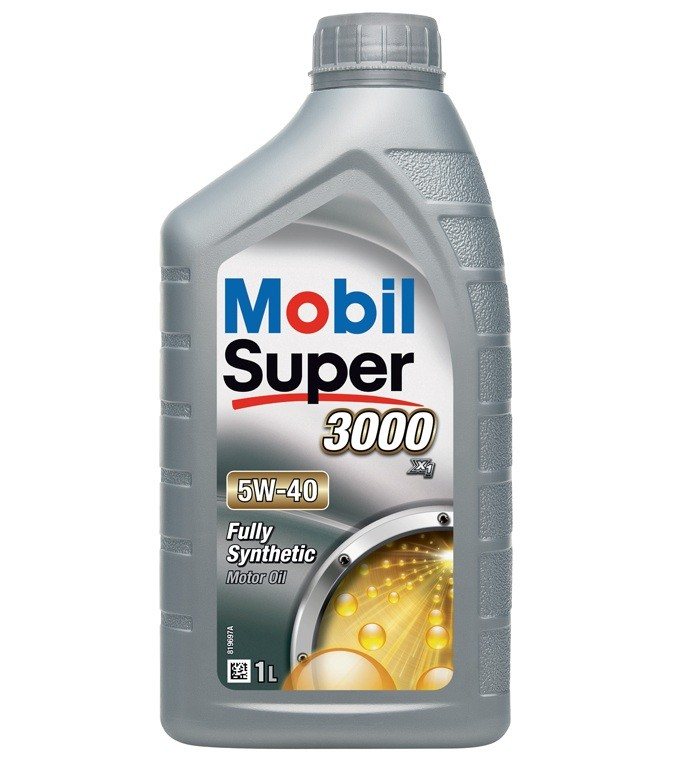 Ulei motor MOBIL SUPER 3000 X1 5W40 - 1L