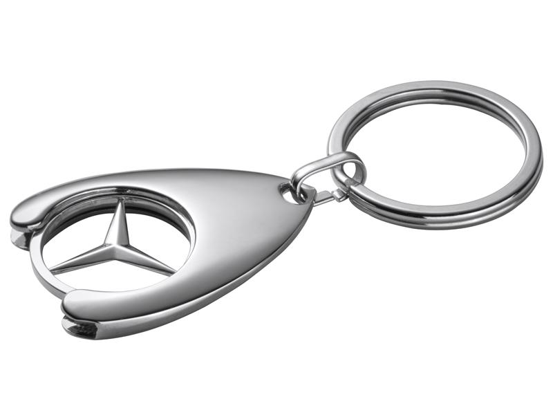 Breloc jeton cumparaturi - Original Mercedes