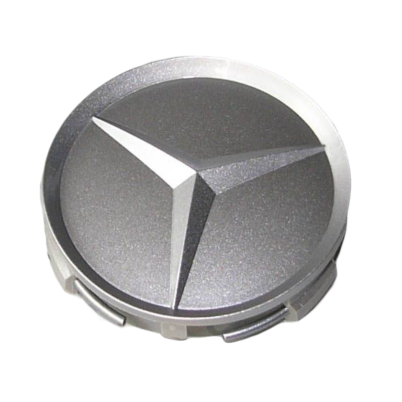 Capac janta aliaj: recessed star, gloss silver B66470203c.png