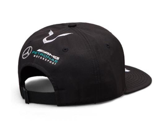 "Sapca neagra cozoroc drept ""HAMILTON"" GT AMG Petronas - OE Mercedes B67996249A.jpg"