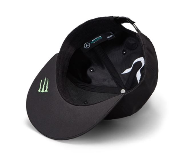 "Sapca neagra cozoroc drept ""HAMILTON"" GT AMG Petronas - OE Mercedes B67996249B.jpg"