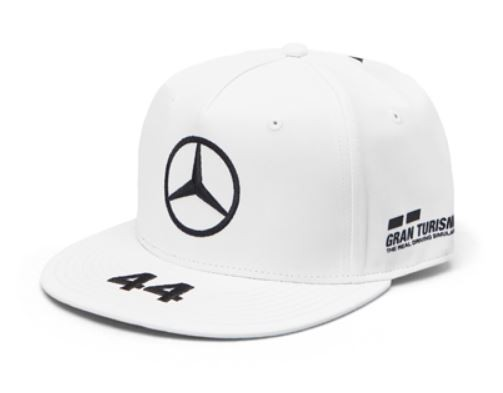 "Sapca alba cozoroc drept ""HAMILTON"" GT AMG Petronas - OE Mercedes"