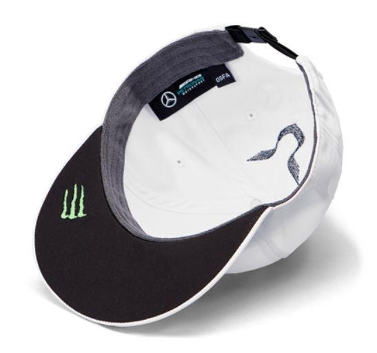 "Sapca alba cozoroc drept ""HAMILTON"" GT AMG Petronas - OE Mercedes B67996250B.jpg"
