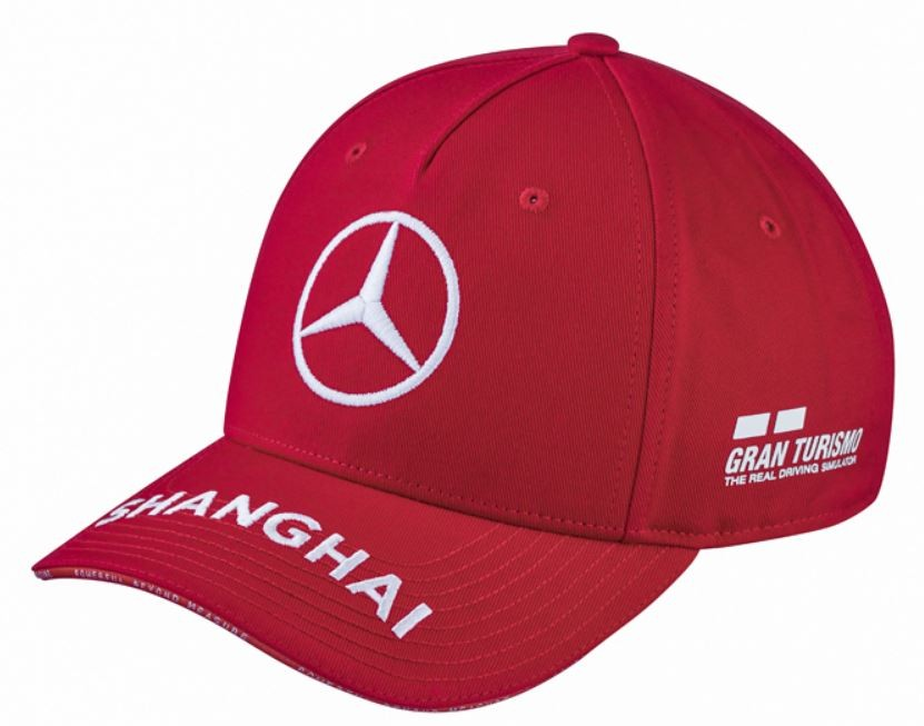 "Sapca rosie ""HAMILTON"", AMG Petronas GT, China Grand Prix - OE Mercedes"
