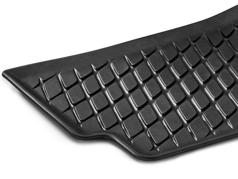 """Set 2 buc covorase spate, """"Dynamic Squares"""", cauciuc, negre - Originale Mercedes A17768085029G33A.jpg"""
