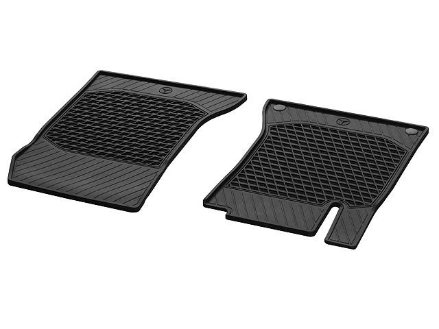 Set 2 buc covorase fata CLASSIC din cauciuc, negru  - Originale Mercedes A17668050019G33B.jpg