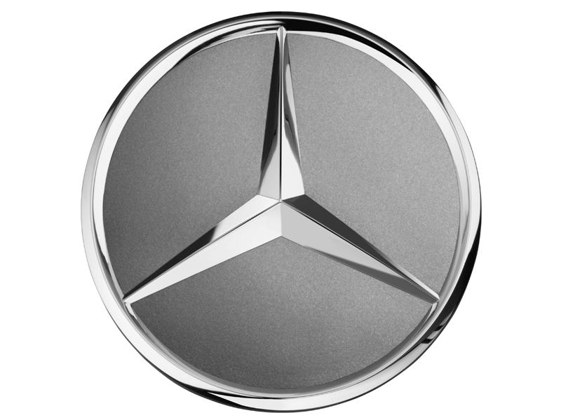 Capac janta aliaj: raised star, titanium grey
