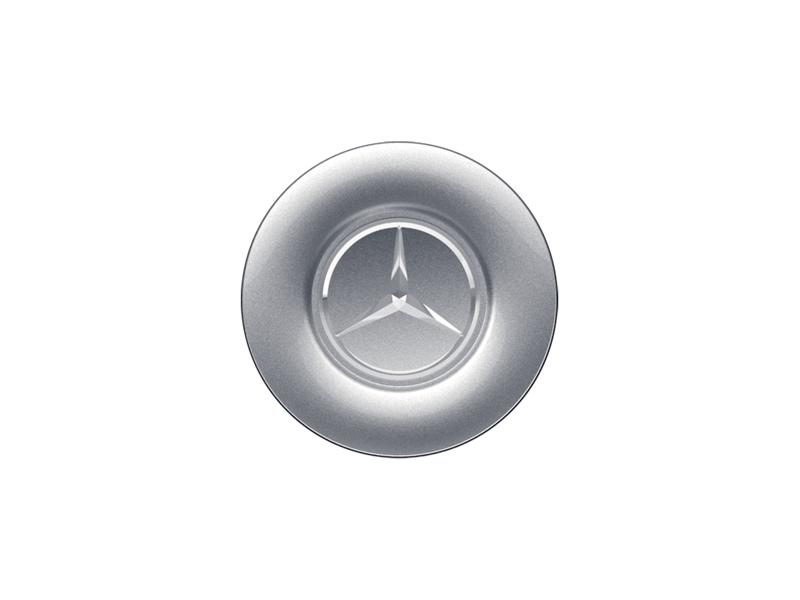 Capac janta aliaj: mare, silver-coloured