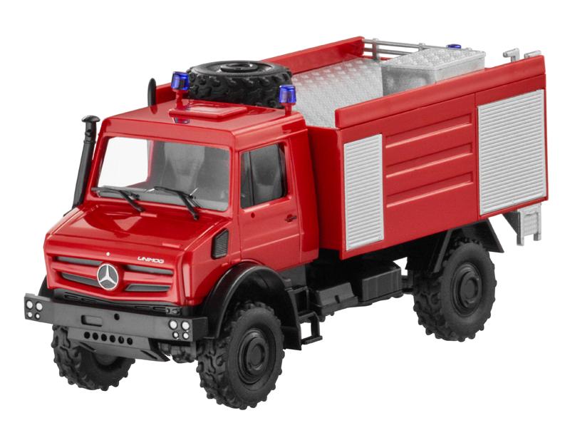 Unimog, U5023, vehicul, pompieri
