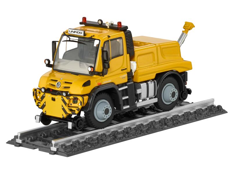 Unimog, U430, Road-rail, shunting, vehicle
