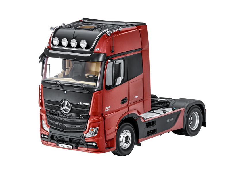 Actros, GigaSpace, cab, 2500, cap, tractor