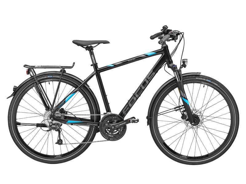 Bicicleta Trekking Aventura, aluminiu, 45 cm, FOCUS