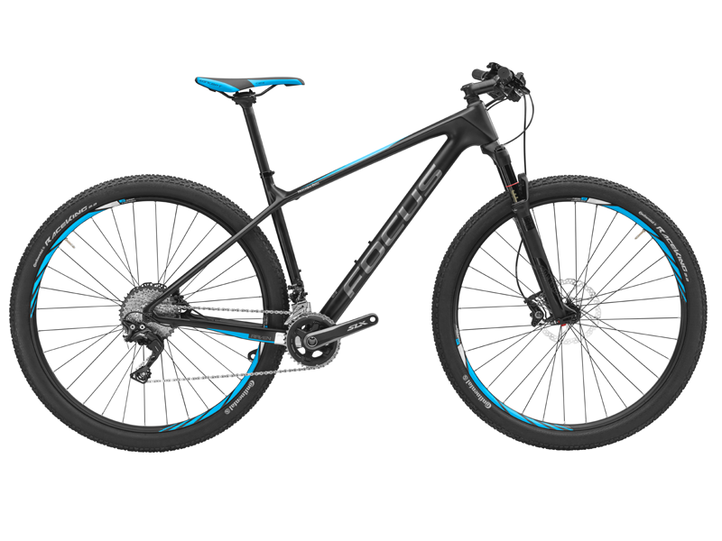 Mountain Bike, Raven, fibră de carbon, 38 cm, FOCUS