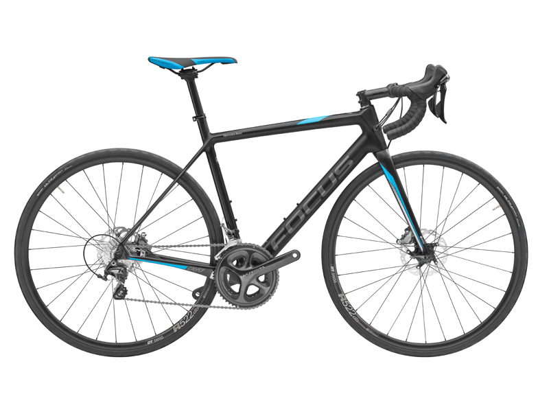 Racing Bike Cayo Disc, fibră de carbon, 48 cm, FOCUS