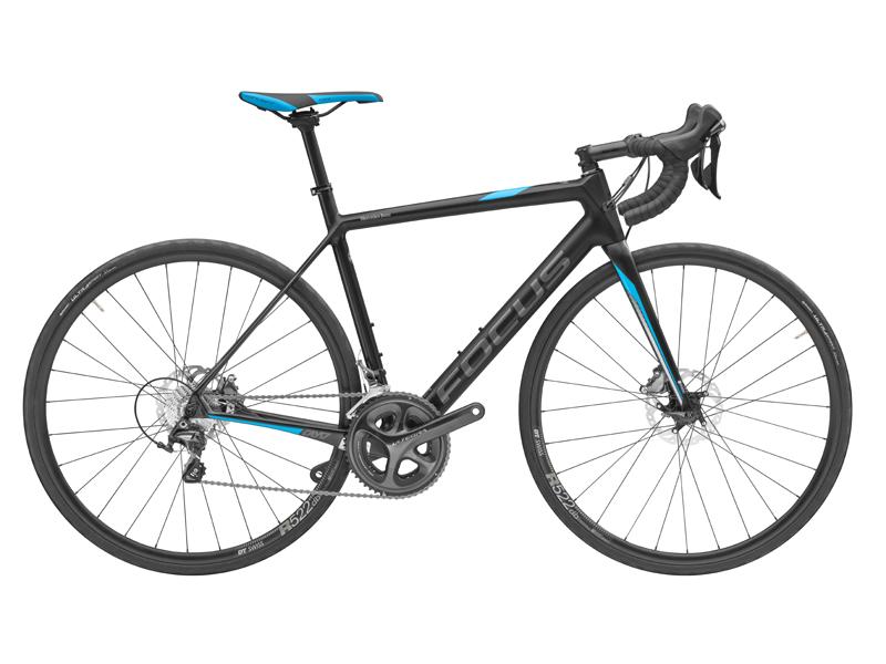 Bicicleta tip Road race, fibră de carbon, 60 cm, FOCUS