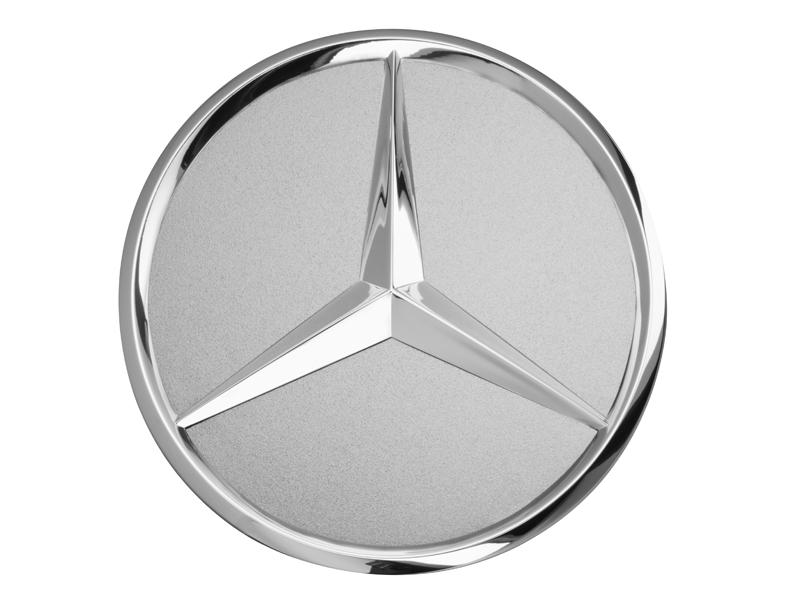 Capac janta aliaj: raised star, titanium silver B66470202a.png