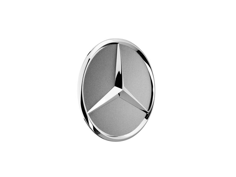 Capac janta aliaj: raised star, titanium silver B66470202b.png
