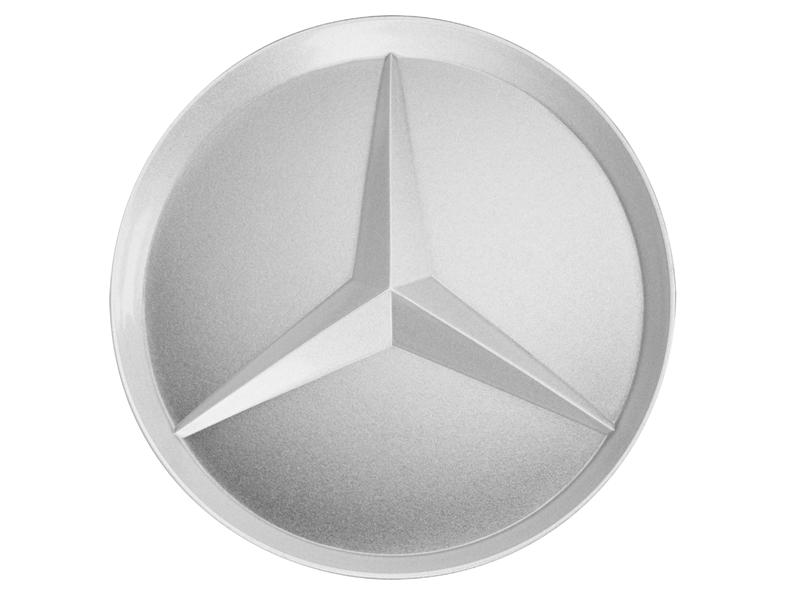 Capac janta aliaj: recessed star, gloss silver