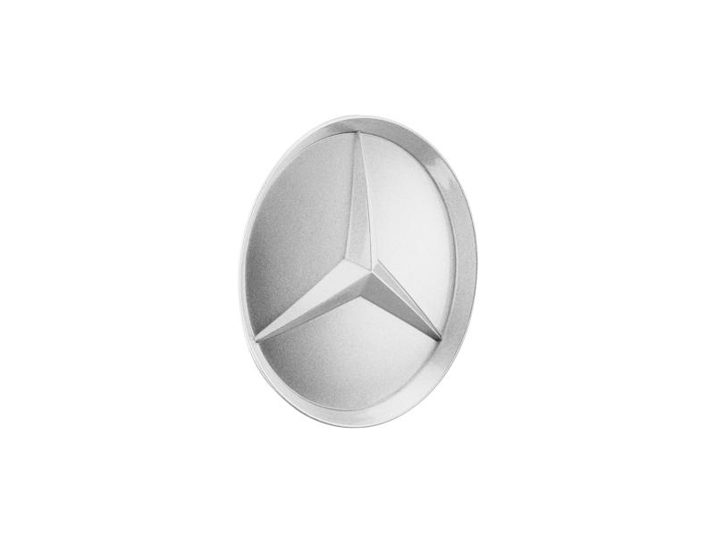 Capac janta aliaj: recessed star, gloss silver B66470203b.png