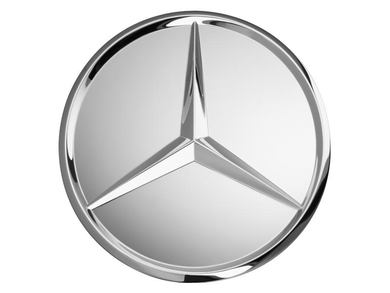 Capac janta aliaj: raised star, chrome