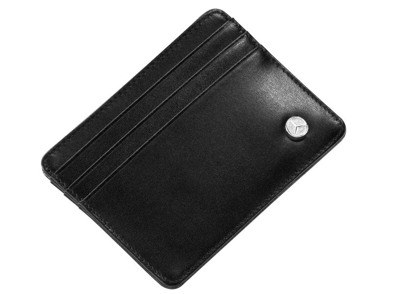 Mini portofel din piele pentru carti de credit