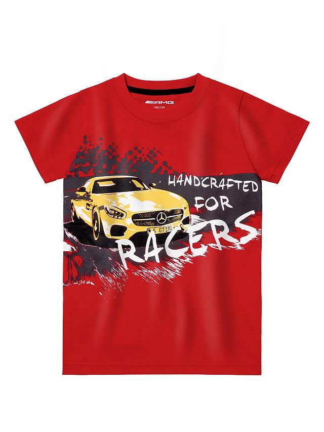 Tricou copii 128/134 cm - unisex - original Mercedes