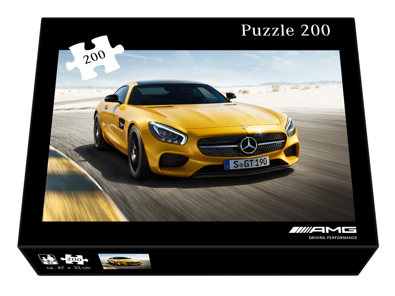 Puzzle Mercedes-AMG GT, varsta 8+ ani