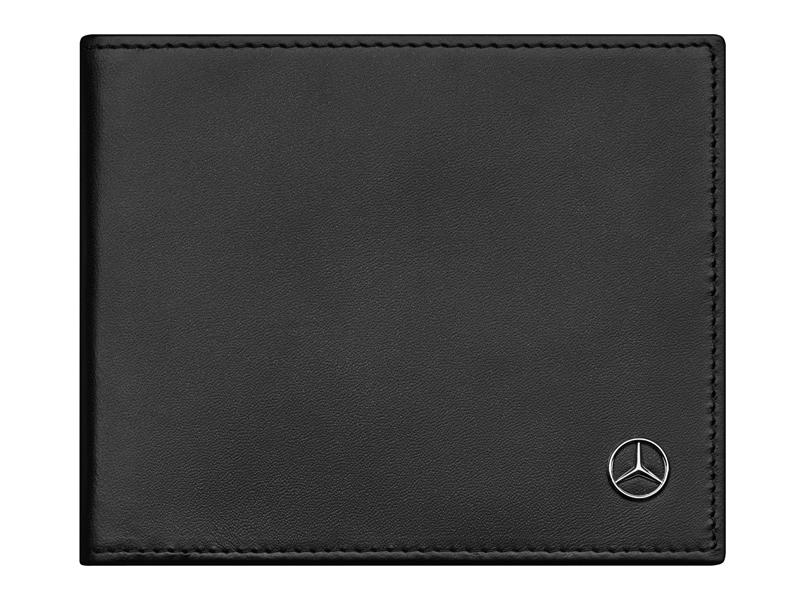 Portofel pentru carduri, din piele, cu sistem prindere pentru bancnote