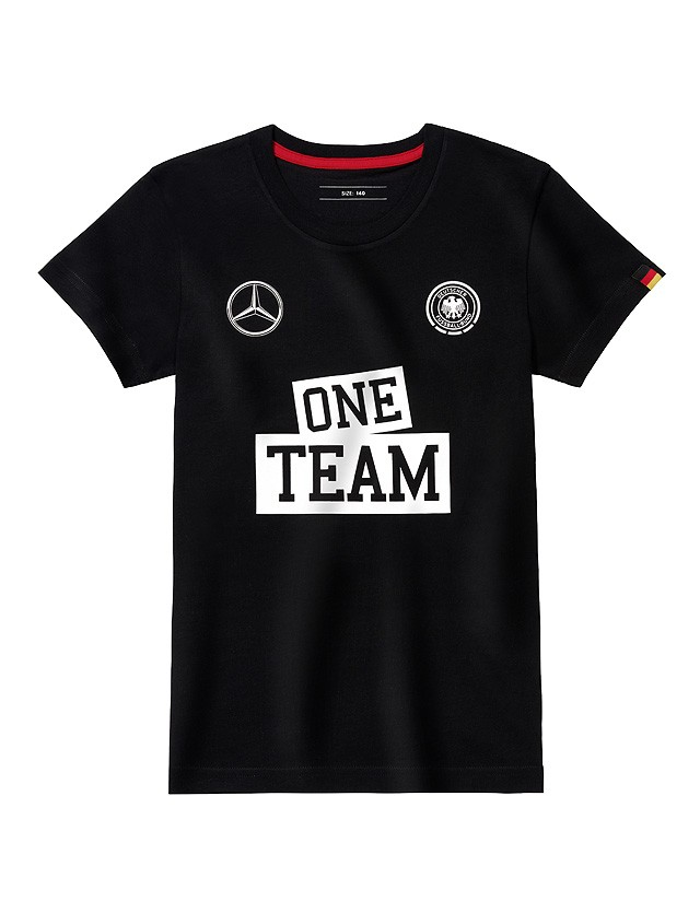Tricou ONE TEAM 128 - copii - original Mercedes