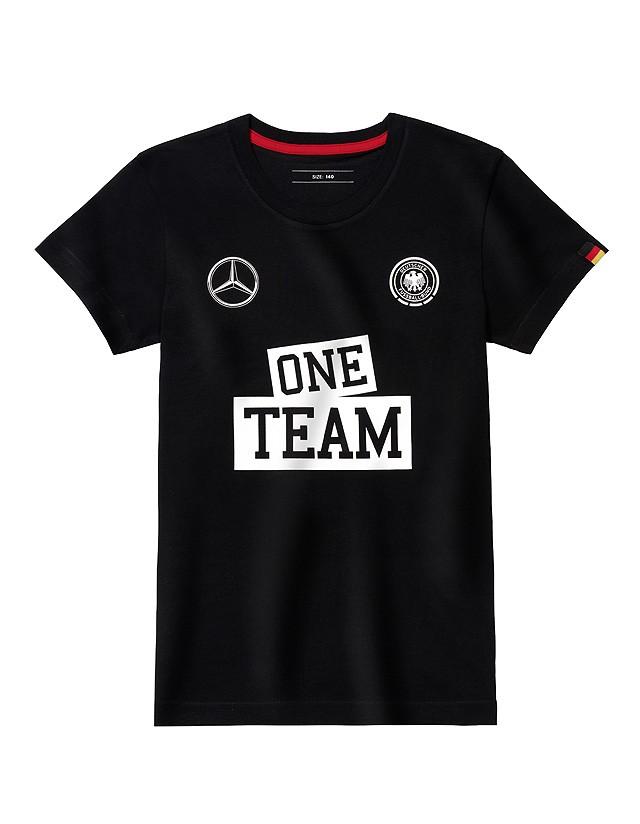 Tricou ONE TEAM 140 - copii - original Mercedes