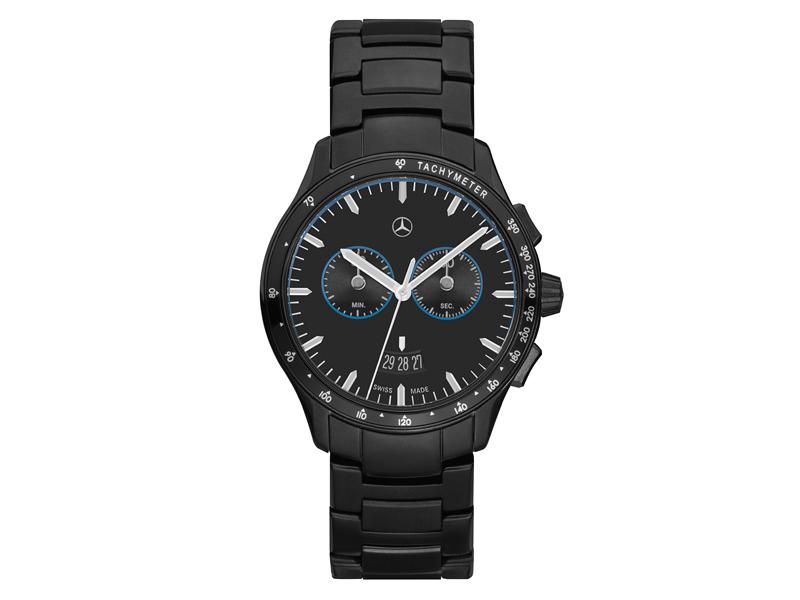 Ceas cronograf pentru barbati, Black Edition